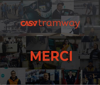 Mobilisation en continu des collaborateurs de Casatramway